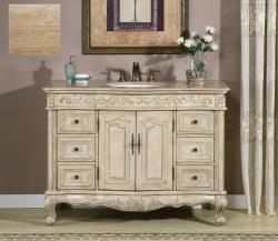 Silkroad Exclusive Upland Bathroom Single Sink Vanity