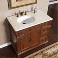 Silkroad Exclusive Moraga Bathroom Single-sink Vanity