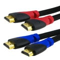 INSTEN Mesh Black 6-foot M/ M HDMI Cable