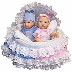 Today's Baby Anatomically Correct Twin Ensemble Dolls