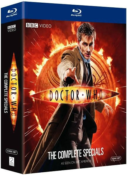 Doctor Who: The Complete Specials (Blu-ray Disc)