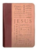 Duo-tone Names of Jesus Extra Large Bible Cover (General merchandise)
