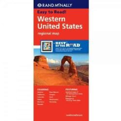 Rand McNally Western United States Regional Map (Sheet map, folded)