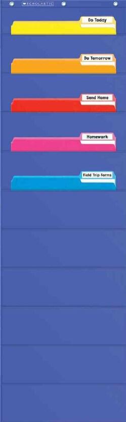 File Organizer Pocket Chart (Wallchart)