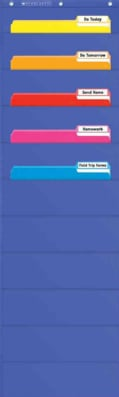 File Organizer Pocket Chart (Wallchart)
