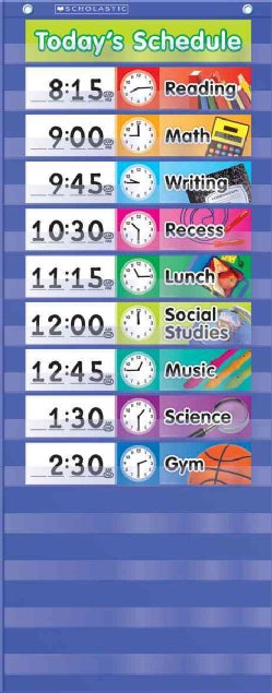 Daily Schedule Pocket Chart (Wallchart)