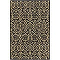 Hand-Tufted Transitional Mandara Wool Rug (5' x 7'6)