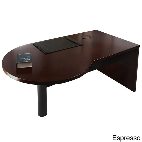 Mayline Mira Series 72-inch Right P-shaped Desk