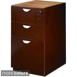 Mayline Mira Series 3-Drawer Box/File Pedestal