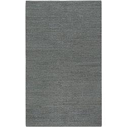 Hand-woven Seafoam Natural Fiber Jute Braided Texture Priam Rug (5' x 8')