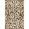 Hand-knotted New Zealand Wool Rug (4' x 6')