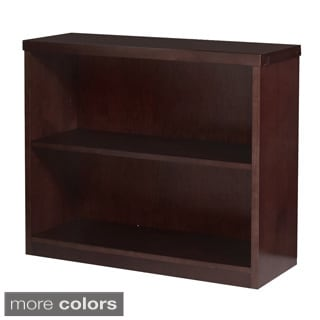 Mayline Mira Series 2-shelf Wood Bookcase