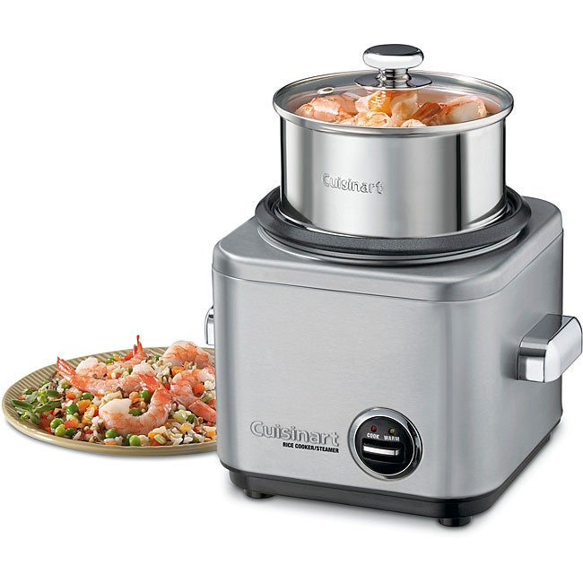 Cuisinart CRC-400FR Stainless Steel 4-cup Rice Cooker (Refurbished)