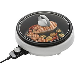 Aroma 6-in-1 3.2-quart Super Pot with Grill Plate