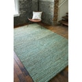 Set of Two Durable Hand-woven Priam Natural Fiber Jute Braided Texture Rugs (2' x 3')
