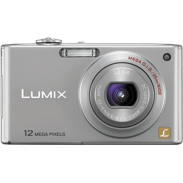 Panasonic Lumix DMC-FX48 12.1 Megapixel Compact Camera - Silver