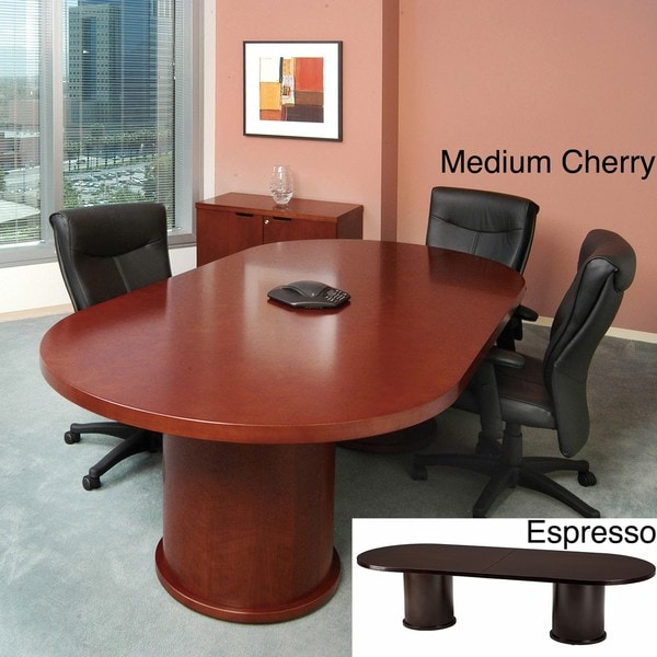 Mayline mira 10 foot oval conference table with column base for 10 foot round table