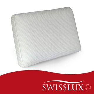 Swiss Lux European Styled Luxury Molded Ventilated Memory Foam Pillow