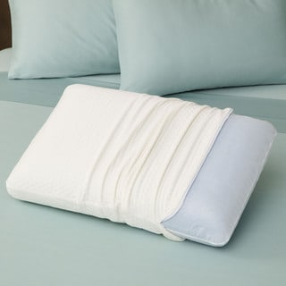 SwissLux European Styled Luxury Molded Ventilated Memory Foam Pillow