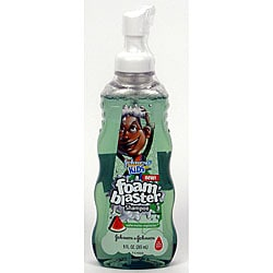 Johnson's Kids 9-ounce Watermelon Explosion Foam Blaster Shampoo (Pack of 4)