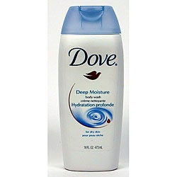 Dove 16-ounce Dry Skin Deep Moisture Body Wash (Pack of 4)
