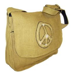 Handcrafted Jute Messenger Bag (Nepal)