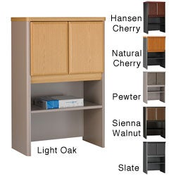 Series A Advantage Beech 24-inch Storage Hutch