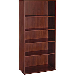 Series C 5-shelf Double Bookcase