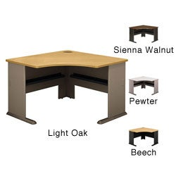 Series A Advantage Natural Cherry Corner Desk