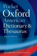 Pocket Oxford American Dictionary & Thesaurus (Paperback)
