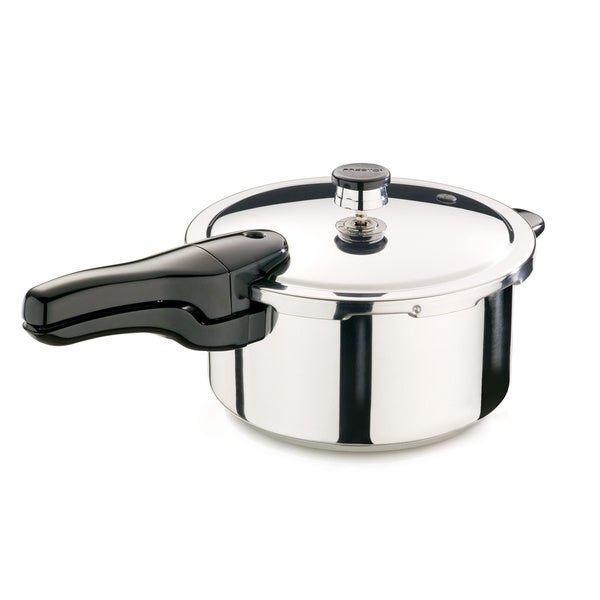 4-quart Stainless Steel Pressure Cooker
