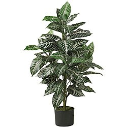 Zebra 3-foot Silk Plant
