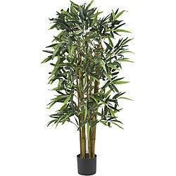 Biggy 4-foot Bamboo Silk Tree