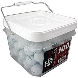 Titleist NXT Bucket of Golf Balls (Pack of 100) (Refurbished)