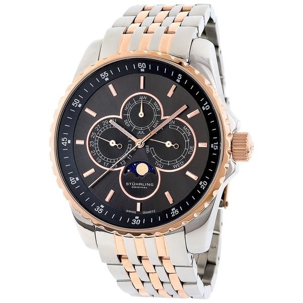 Stuhrling Original Men's Artemis Genteel Two-tone Quartz Watch