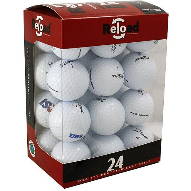 Red Labeled Titleist NXT Extreme Recycled Golf Balls (Pack of 48)