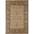 Set of 2 Hand-Knotted Oriental Legacy New Zealand Wool Rugs (2' x 3')