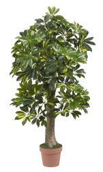 Real Touch Silk 4-foot Schefflera Tree