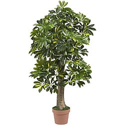 Real Touch Silk 4-foot Schefflera Tree