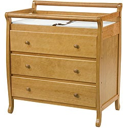 DaVinci Emily 3-drawer Changer in Oak