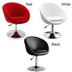 Barrel Adjustable Swivel Leisure Chair