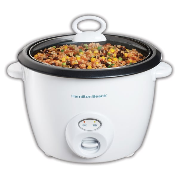 Hamilton Beach White 20 Cup Rice Cooker 6109112