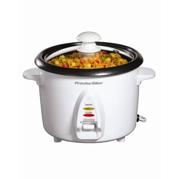 Hamilton Beach 12421230 White 8-cup Rice Cooker