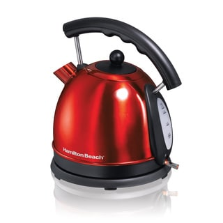 Hamilton Beach Red 40894 10-cup Electric Kettle