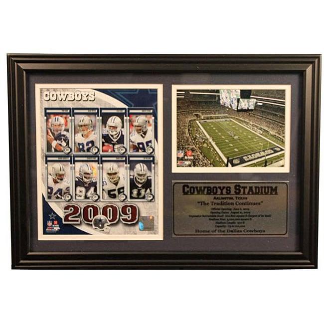 2009 Dallas Cowboys 12x18 Photo Stat Frame