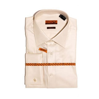 Men's Beige Dress Shirt