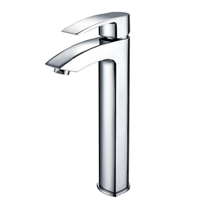 Bathroom Sinks And Faucets : Kraus Visio Chrome Bathroom Vessel Sink Faucet - 12433979 - Overstock ...