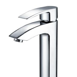 Kraus Visio Chrome Bathroom Vessel Sink Faucet
