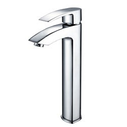 Best Bathroom Faucet Brand : Kraus Visio Bathroom Vessel Sink Faucet with Chrome Pop-up Drain