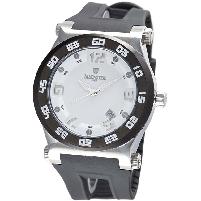 Lancaster Italy Men's Barreto Solo Tempo Steel Case Watch at Sears.com